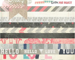 Pack Pap�is Scrapbook 6 x 6 Love You