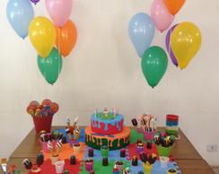 Decora��o De Festa Infantil- Tema Cores