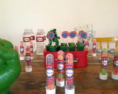 Decora��o De Festa Infantil- Vingadores