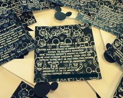 Convite Mickey Anivers�rio