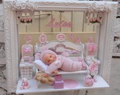 Quadro para porta de maternidade beb�