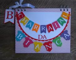 Caderno Personalizado Arraial