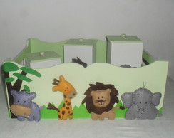 Kit Higiene Turma do Safari, 5 pe�as.