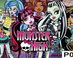Painel Monster High - Festa Infantil