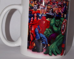 Caneca Super Her�is Marvel