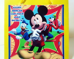 SACOLINHA MICKEY MOUSE CLUBHOUSE - M�DIO