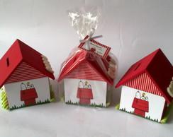 Casa Cofre SNOOPY - promo��o