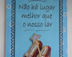 """Plaquinha """"O M�gico de Oz"""""""