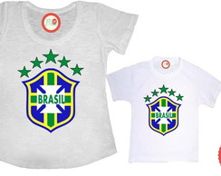 Kit - Escudo Com Estampa Em On�a