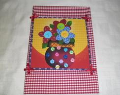 Caderno Decorado - Florais 2