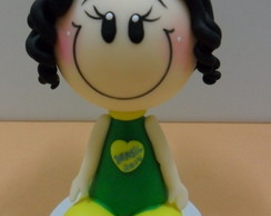 Boneca mascote