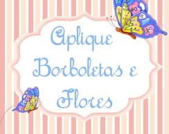 PA Borboletas e flores