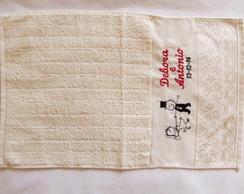 Lembran�a Padrinhos - toalha De Lavabo