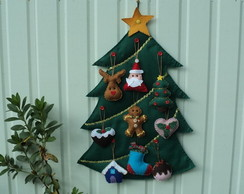 �rvore e enfeites de Natal