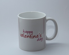 Caneca Happy Valentine's Day