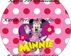 Adesivo latinha Minnie