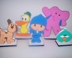 Kit Pocoyo 5 pe�as