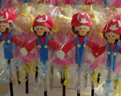 Ponteira de l�pis tema Mario bros