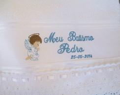 Lembrancinha Batizado- toalhinha Bordada