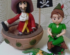 Kit Peter Pan em biscuit