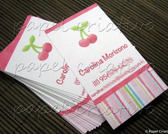 Calling Cards - cherry