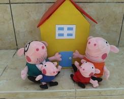 Peppa Pig e fam�lia