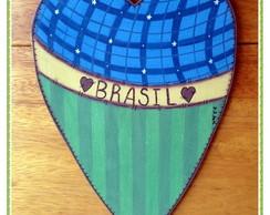 Enfeite de Porta do Brasil