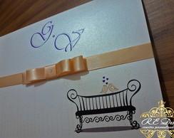 Convites de Casamento - Cole��o Royal