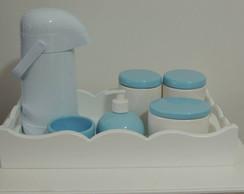 Kit Azul Beb� e Branco