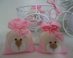 Lembran�a De Maternidade Ursa Rosa