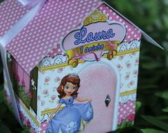 Caixa casinha Princesinha Sofia