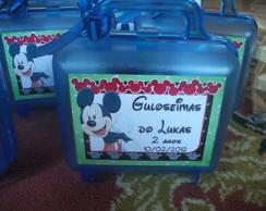 Maleta Acr�lico Mickey