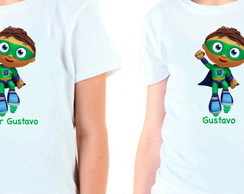 Camiseta Personalizada - Super Why