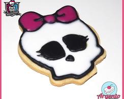 Biscoitos decorados Monster High
