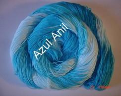 Linha Matizada Azul Anil
