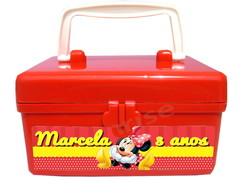 Maletinha Personalizada Minnie Vermelha