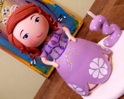 Topo de bolo Princesa Sofia