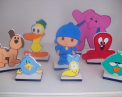 Kit Turma do Pocoyo - 8 pe�as