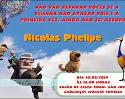 Convite Up - Altas Aventuras