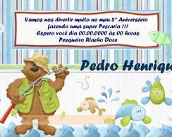 Convite Pescaria