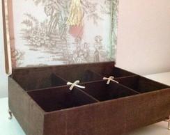 Luxo de caixa Toile De Jouy