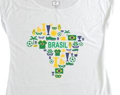 T-shirt Mapa do Brasil