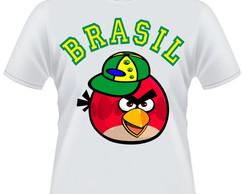 Camiseta Angry Birds Brasil