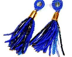 Brinco Franjas *Azul Bic*