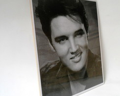 Placa Decorativa Elvis