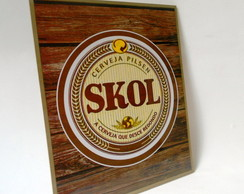 Placa Decorativa Skol