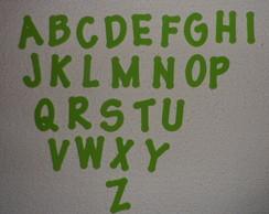 Letras em eva