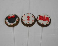 Pirulitos de chocolate Mickey/Minnie
