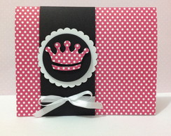 Convite Coroa Pink