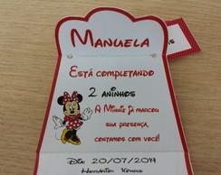 Convite Bolsinha